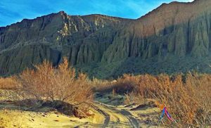 Little Grand Canyon of the Mojave Desert: Afton Canyon
